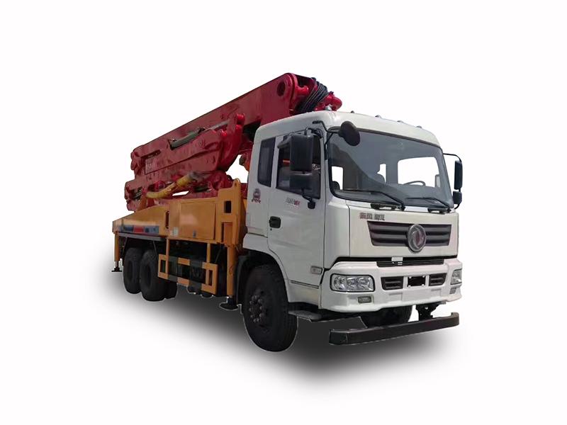 东风御虎35米泵车